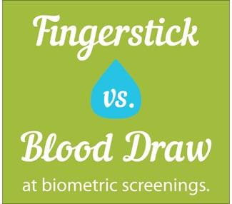 finger stick blood draw