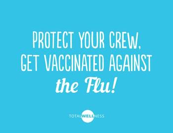 Flu Shot Instagram Sign