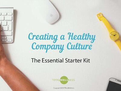 Health Company Culture Kit Cover Page