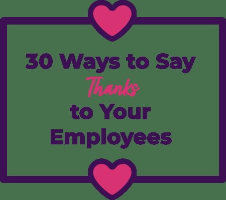 Thanks-employees