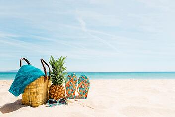 beach-background-with-beach-elements-and-copyspace_23-2147836084