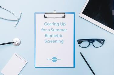 summer biometric screening blog pic