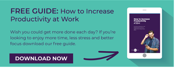 Increase Productivity at Work CTA